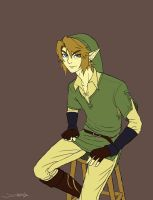 Link's a Poser by Scribblerb
