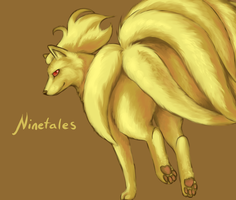 Ninetales by twistedCaliber