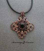 pendant with agate by nastya-iv83