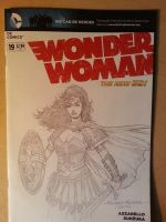 Wonder Woman sketch cover. by Blasterkid