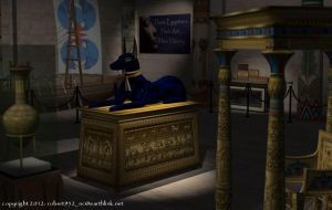 Museum's Egyptian Gallery by robert952