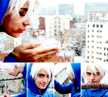 Jack Frost Cosplay. by KawaiCriminalmind