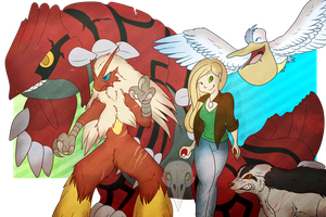 Omega Ruby Champions by ClosetMentalPatient