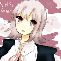 SHSL Gamer by HachibanaEne