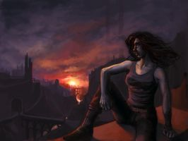 Eclipse - Dream of the City by aora