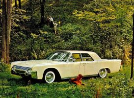 After the age of chrome and fins : 1961 Lincoln by Peterhoff3