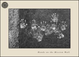 Hands on the Mission Wall by Zyteche