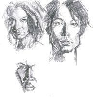 07062015 TWD facestudies by guinnessyde