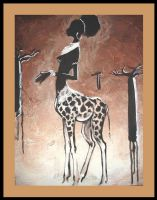 African Centar by SYoshiko