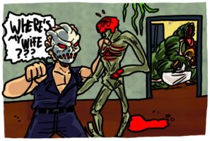 Splatterhouse Part 3 by theEyZmaster