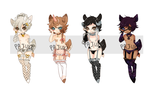 Dainty keepers and customs  (not for sale) by Kiwi-adopts