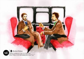 Holmes and Watson by whaats