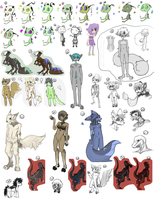 Leftovers Two +See Updated+ by Stephys-Adoptables