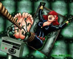 Black Widow Interrogated by SnailShell