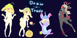 Draw-or-Trade 5 .:Closed!:. by Pieology