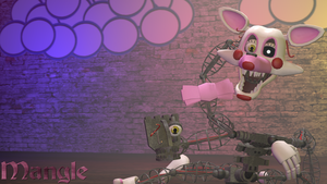 Mangle Wallpaper by LesTeR92