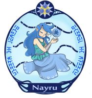 Nayru by LittleGreenHat