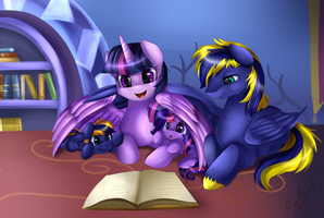 Comm: A Reading Afternoon by pridark