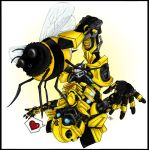 Bumblebee by fellow-traveller