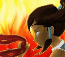 Korra by Darkfluffyness