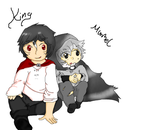 King and Marble (murmel) by Sparkylovecupcakes