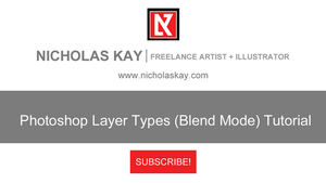 Adobe Photoshop Layer Types (Blend Mode) Tutorial by NicholasKay