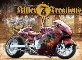 Pirates of the Caribbean Bike by KillerKreationsInc