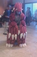Groudon by khcosplayproductions