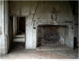 Medieval Fireplace by In-the-picture