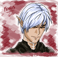 First Fenris Attempt by Prince-in-Disguise