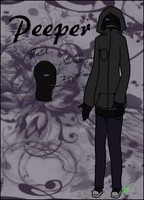 [OC] Peeper by Chaotic-Senpai
