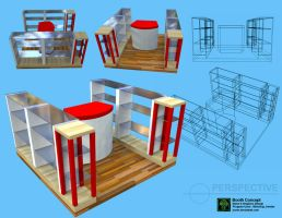 simple booth designs by jsonn