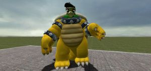 Palette in a Bowser costume by insaneplayer03