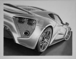 Zenvo ST1 by industrialrevelation