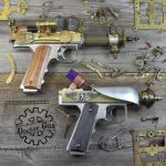 Steampunk Pistols by Doctor-Gus