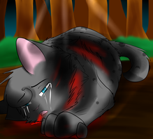 Ashfurs Death by NightInTheShadows