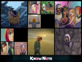 Know Note Song Cover Images  set 3 by RicoD-DA