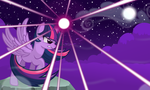 Twilight Sparkle -The magic night- by Godoffury