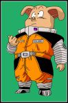 Oolong traje espacial DBZ by minguinpingu05