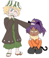 Urahara And yoruichi. by daddysgirl554