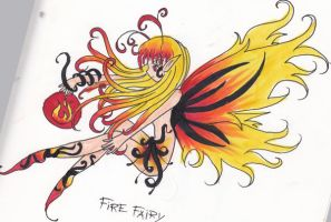 Element Fairies- Fire by mosspluse