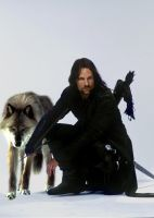 Aragorn and His Daemon by LJ-Todd