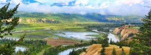 Columbia River 2 Pic Pano by Joe-Lynn-Design