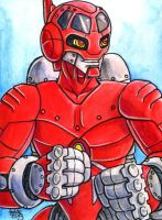 Sketchcard Power Stone Edward Falcon Power Charge by fedde