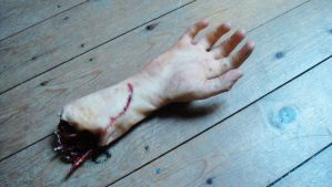 SFX Prosthetic Severed Arm by NJSFX