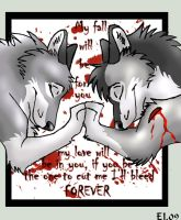 I'll Bleed Forever by WindWo1f