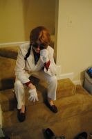 Ace Attorney - Cosplay - Detective Fulbright by CatTheCapricorn