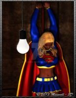 Supergirl Captured by Maxwell-3D