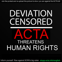 STOP ACTA by Kiwi-Mystere
