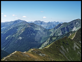 HDR mountains 6 by dwsel